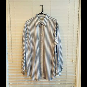 *Authentic* Hermes Dress Shirt Size 44 (17.5 USA)